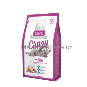 Brit Care Cat Crazy I´m Kitten 2x7 kg