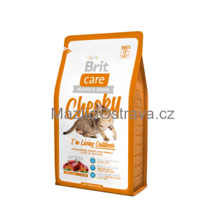 Brit Care Cat Cheeky I´m Living Outdoor 2x7 kg