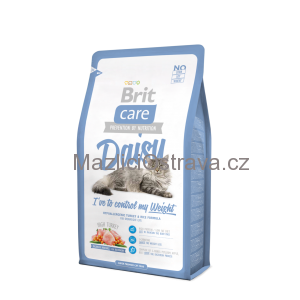 Brit Care Cat Daisy Control Weight 2x7 kg