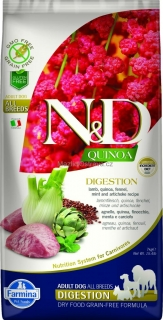 N&D GF Quinoa DOG Digestion Lamb & Fennel 800g