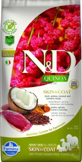 N&D GF Quinoa DOG Skin & Coat Duck & Coconut 2 x 7 kg
