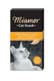 Miamor Cat Krém Multi-Vitamín 6x15g