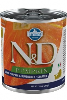 N&D DOG PUMPKIN Starter Lamb & Blueberry 285g