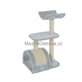 WAVE cat tree M šedá 82cm Zolux