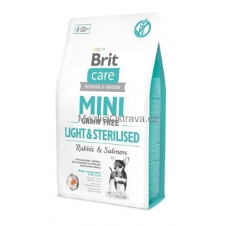 Brit Care dog Mini GF Light /sterilised 400g