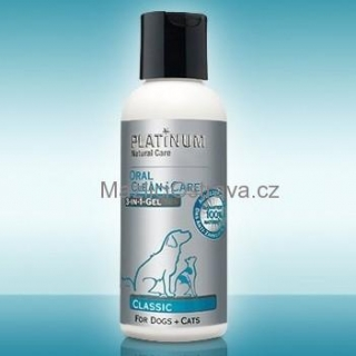 PLATINUM Natural Oral Clean + Care Classic Gel 120ml