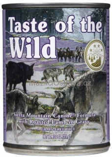 Taste of the Wild Sierra Mountain konzerva 380 g