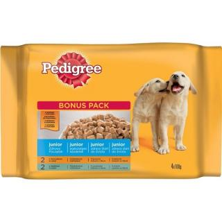 Pedigree Junior kapsa 4 x 100 g
