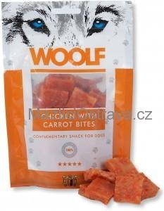 Woolf Chicken & Carrot Bites 100 g
