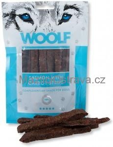Woolf Salmon with Carrot Strips 100 g