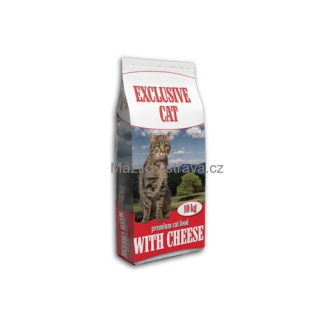 Delikan Cat Exclusive sýr 10 kg