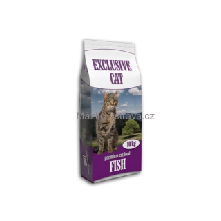 Delikan Exclusive Cat ryba 10 kg