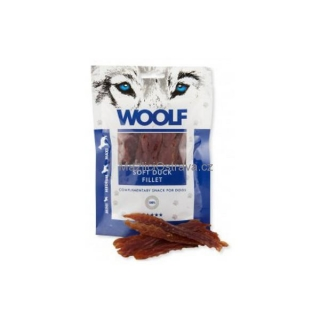 WOOLF Soft Duck Jerky Fillet 100g