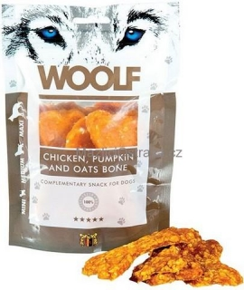 WOOLF Chicken, pumpkin and oats 100g